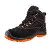 gambar sepatu safety President Ankle Boot suede 9238 flip