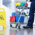Cara Efektif agar Tidak Tertular Virus Corona Dengan Pel LantaiMop untuk Lantai Kantor
