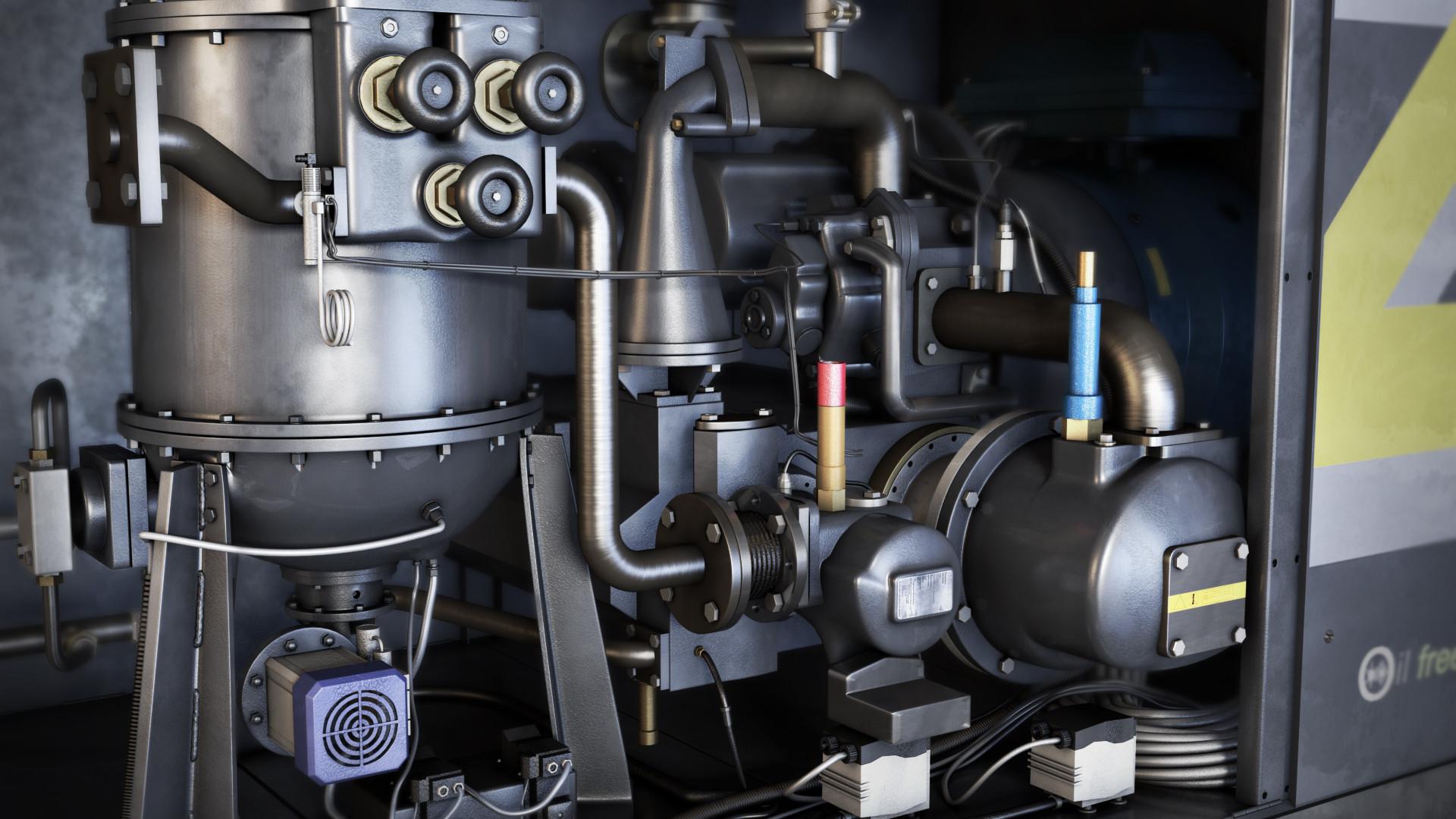 perawatan kompresorscrew