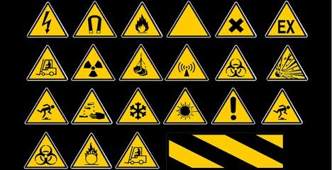 jenis-jenis safety sign
